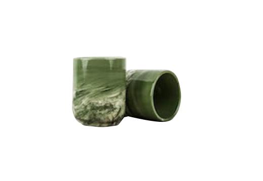 Hrnek bez ucha Mug Sushi mramorově zelený