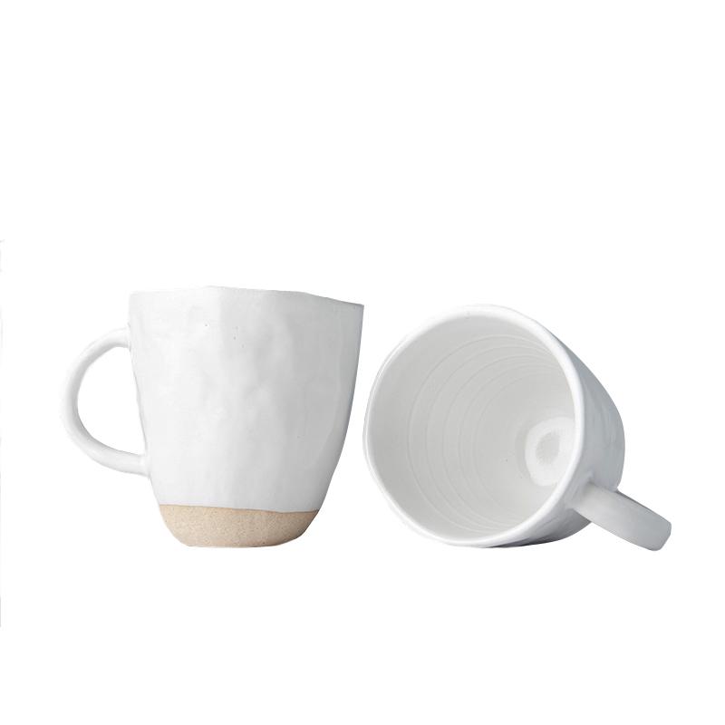 Hrnek s nepravidelným okrajem Tea Cup bílý 250 ml
