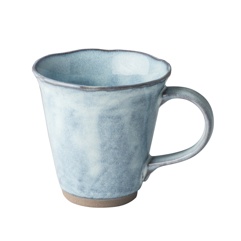 Hrnek s nepravidelným okrajem Tea Cup světle modrý 180 ml