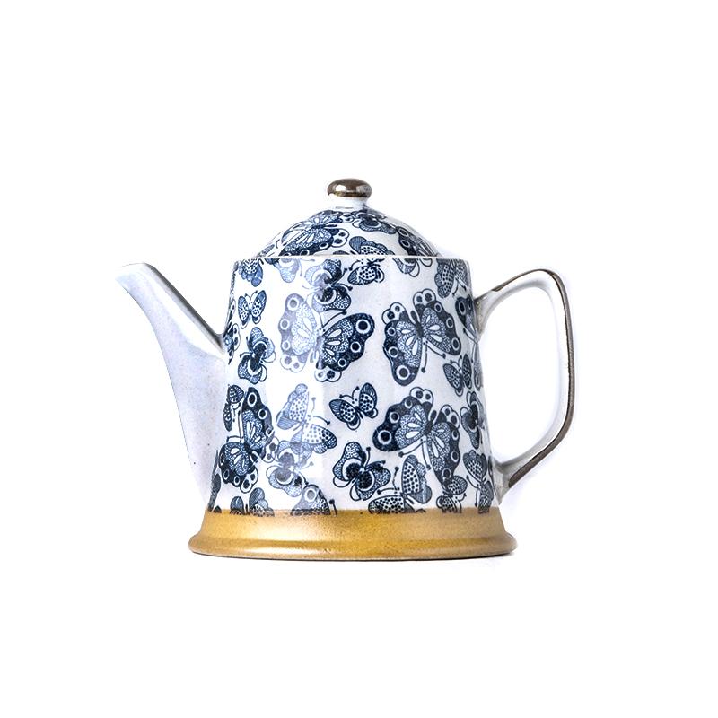 Čajová konvice se sítkem Kasuri Butterfly 450 ml