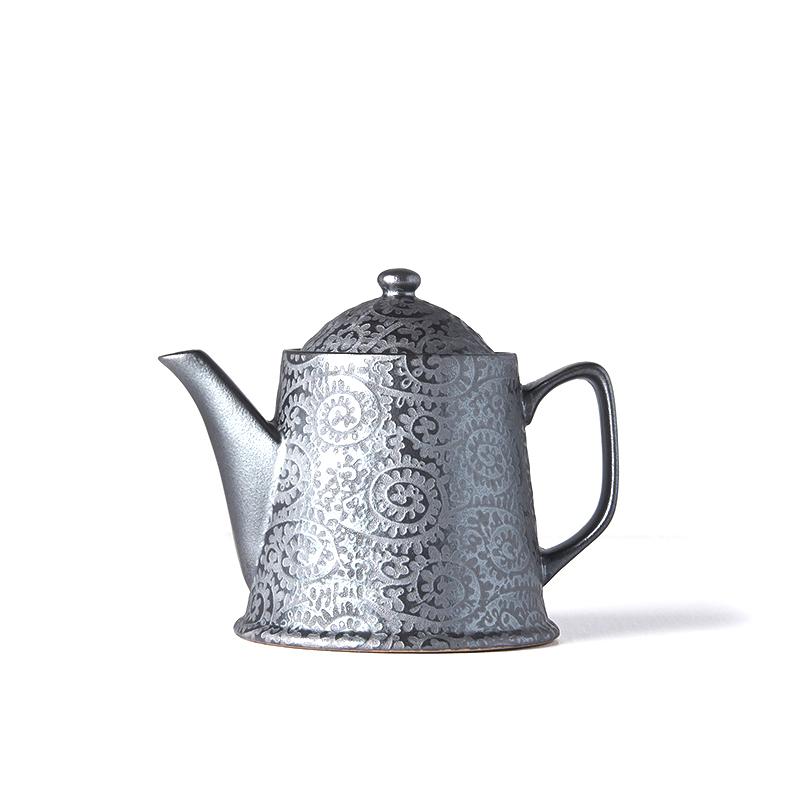 Čajová konvice Black Scroll 450 ml